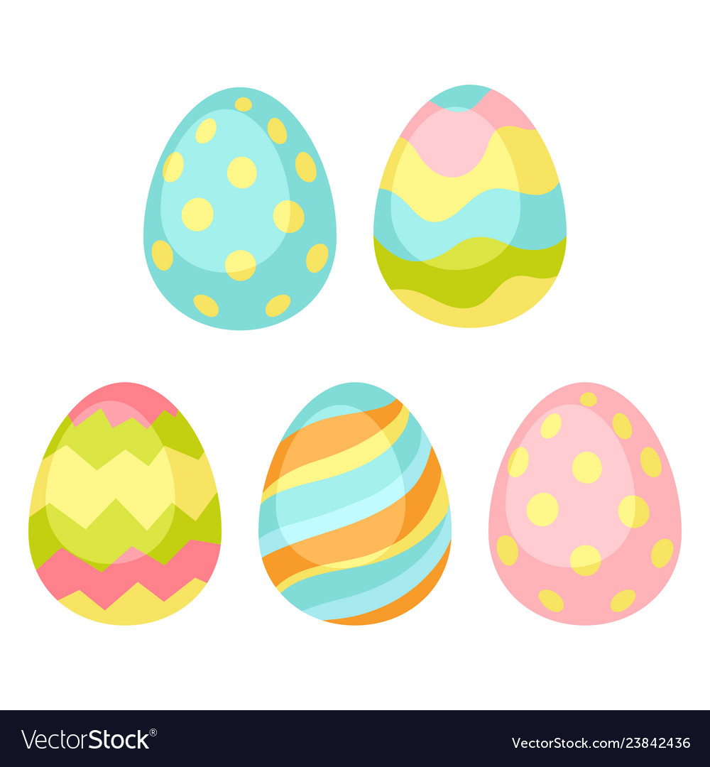 Happy easter seamless pattern whit eggs