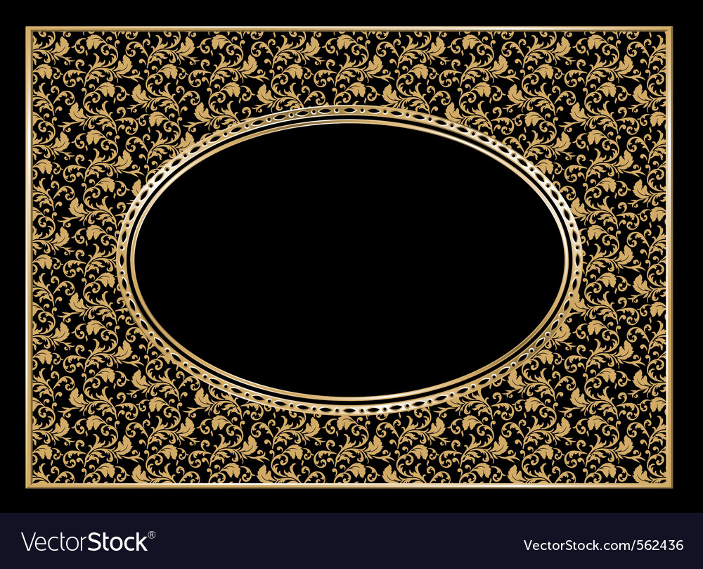 Nice frame Royalty Free Vector Image - VectorStock