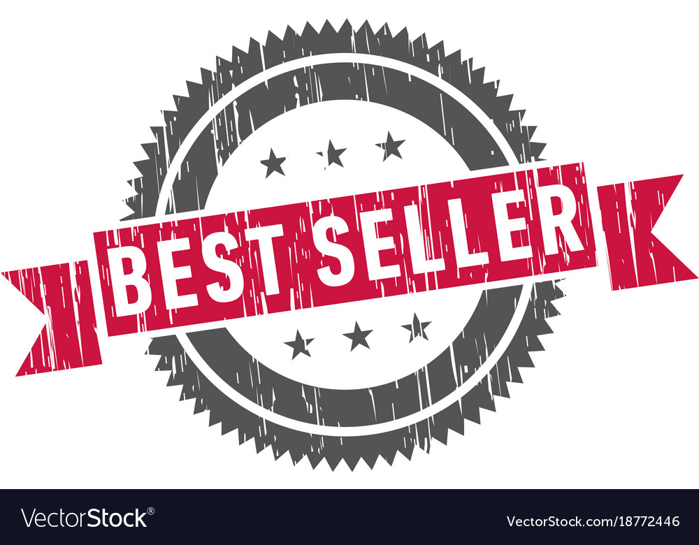 best seller stamp sign seal royalty free vector image