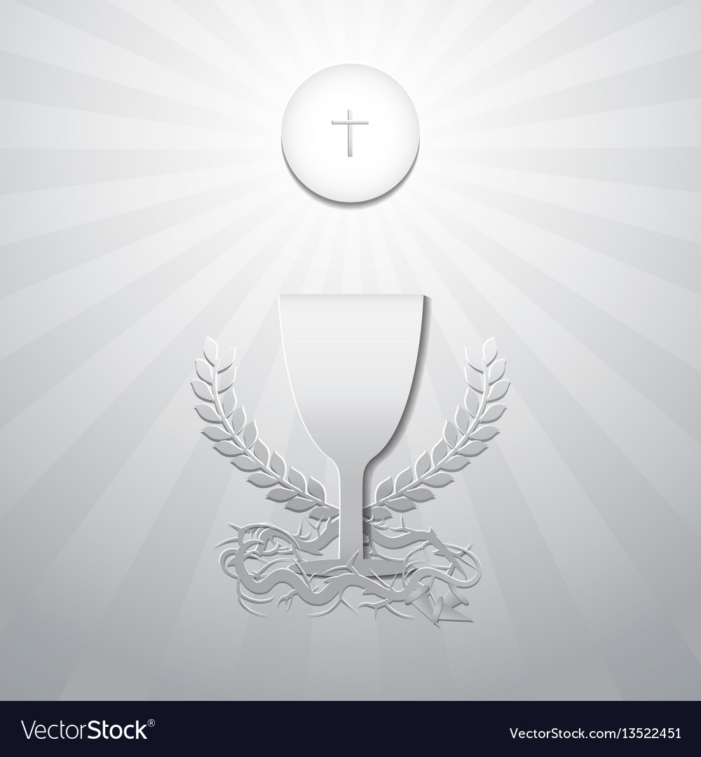Communion vector image