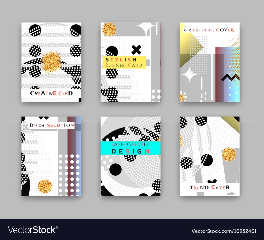 Fashionable original cover Stylish business card