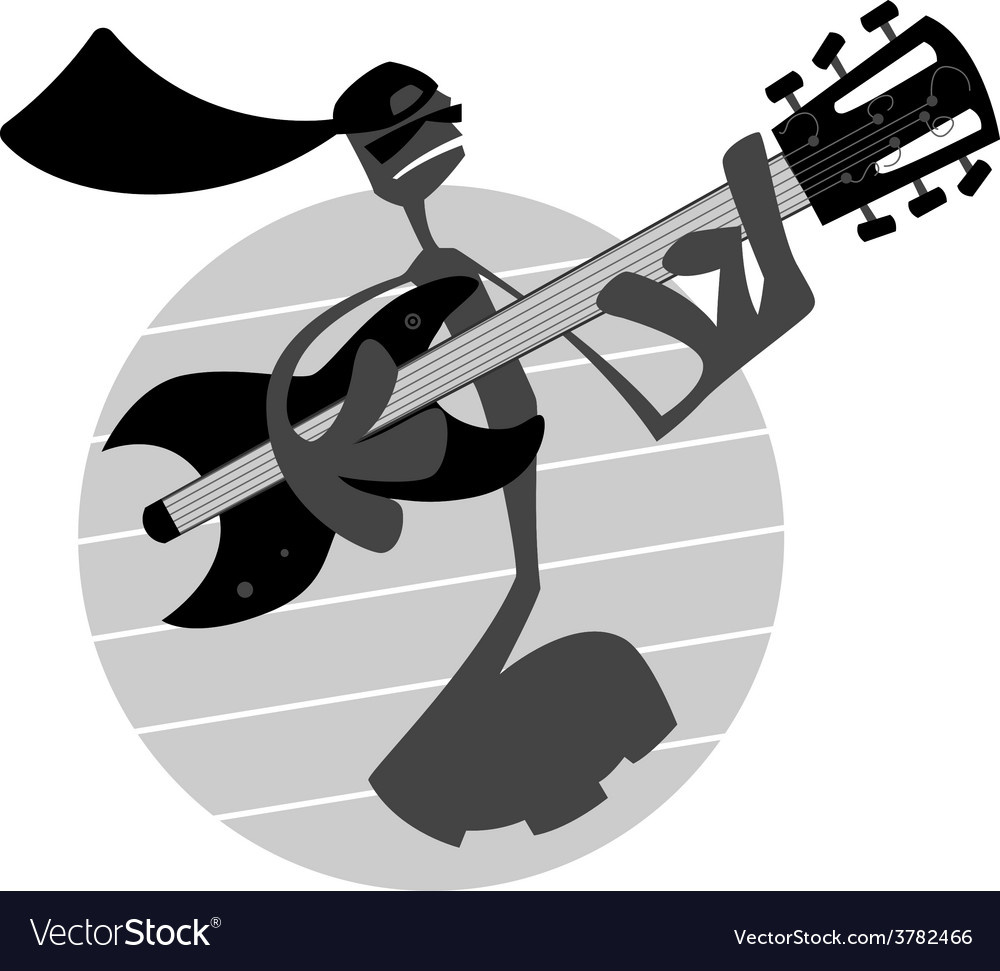 Note Playing Guitar