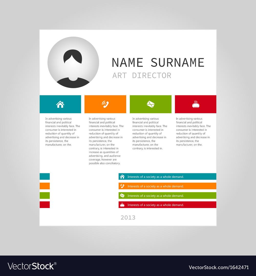 Info graphic person