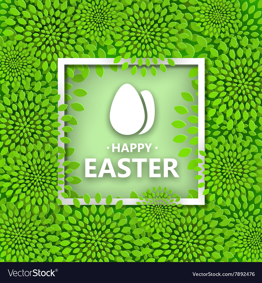 Modern Happy Easter background