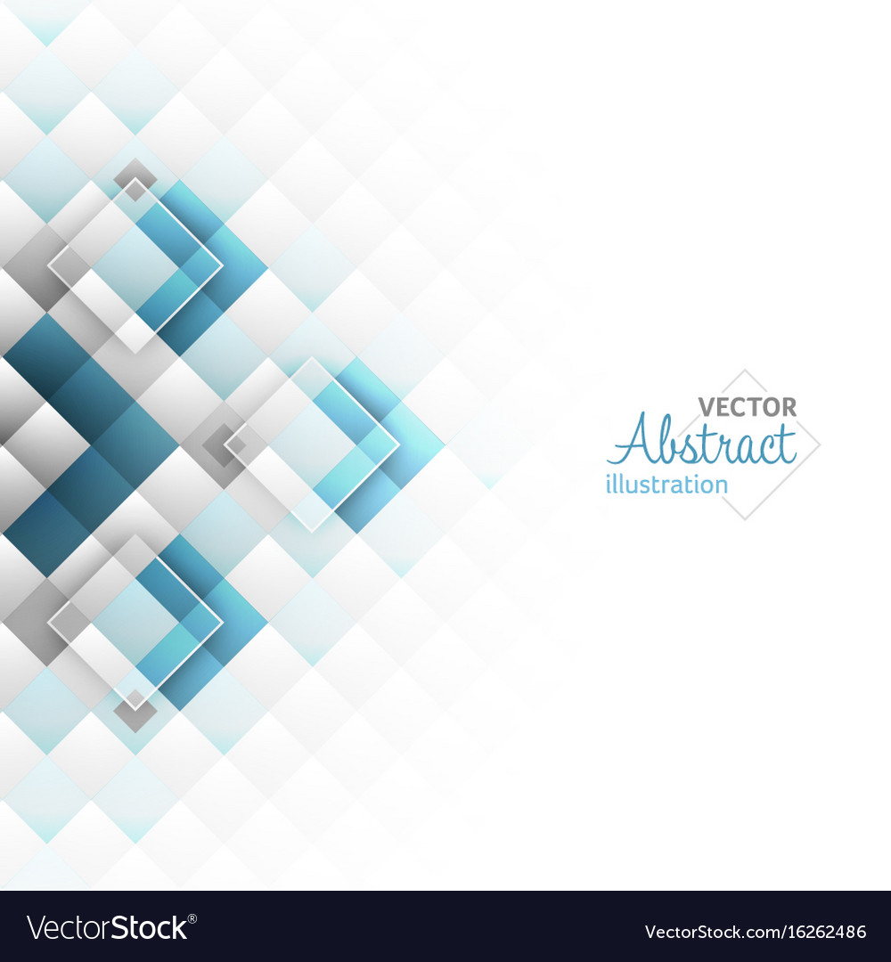 Abstract background square shapes