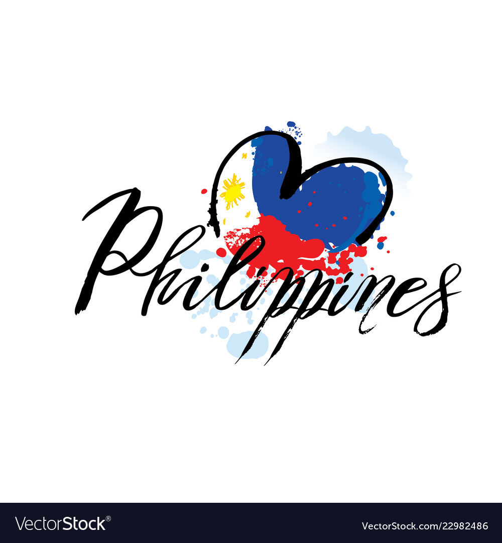 Logo for philippines country fridge magnet