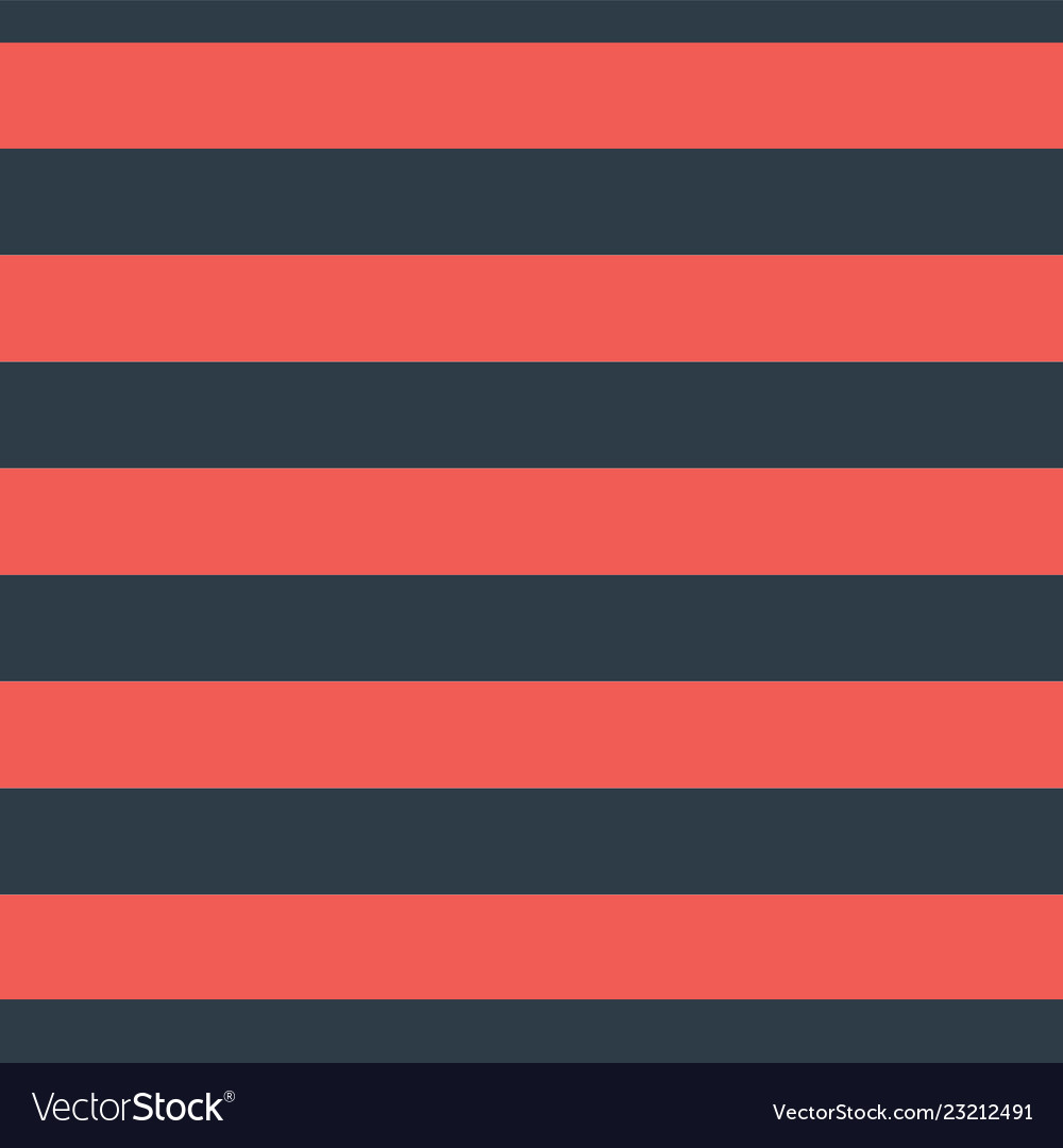 Red blue horizontal stripes seamless pattern