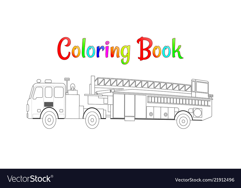 Free Printable Fire Truck Coloring Pages - Coloring Home | 780x1000