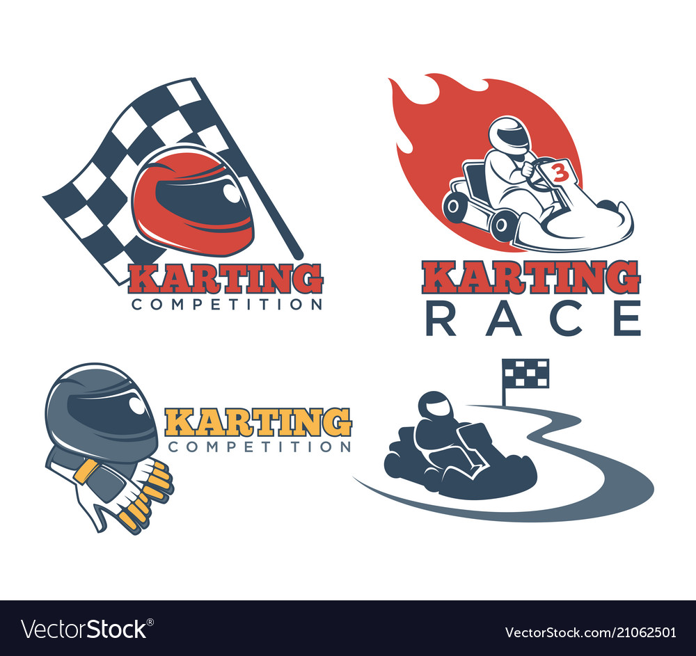 Karting races or kart club competition