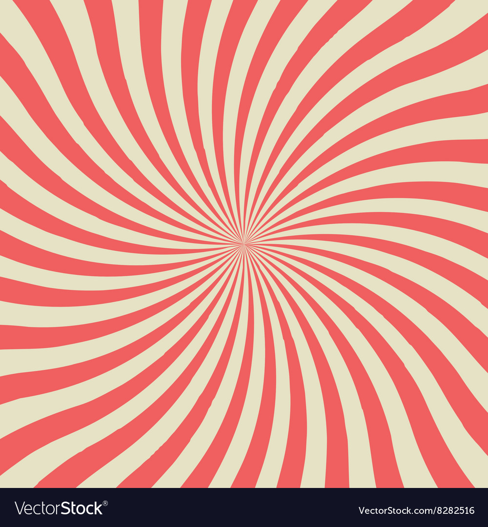 Twist vintage background vector image