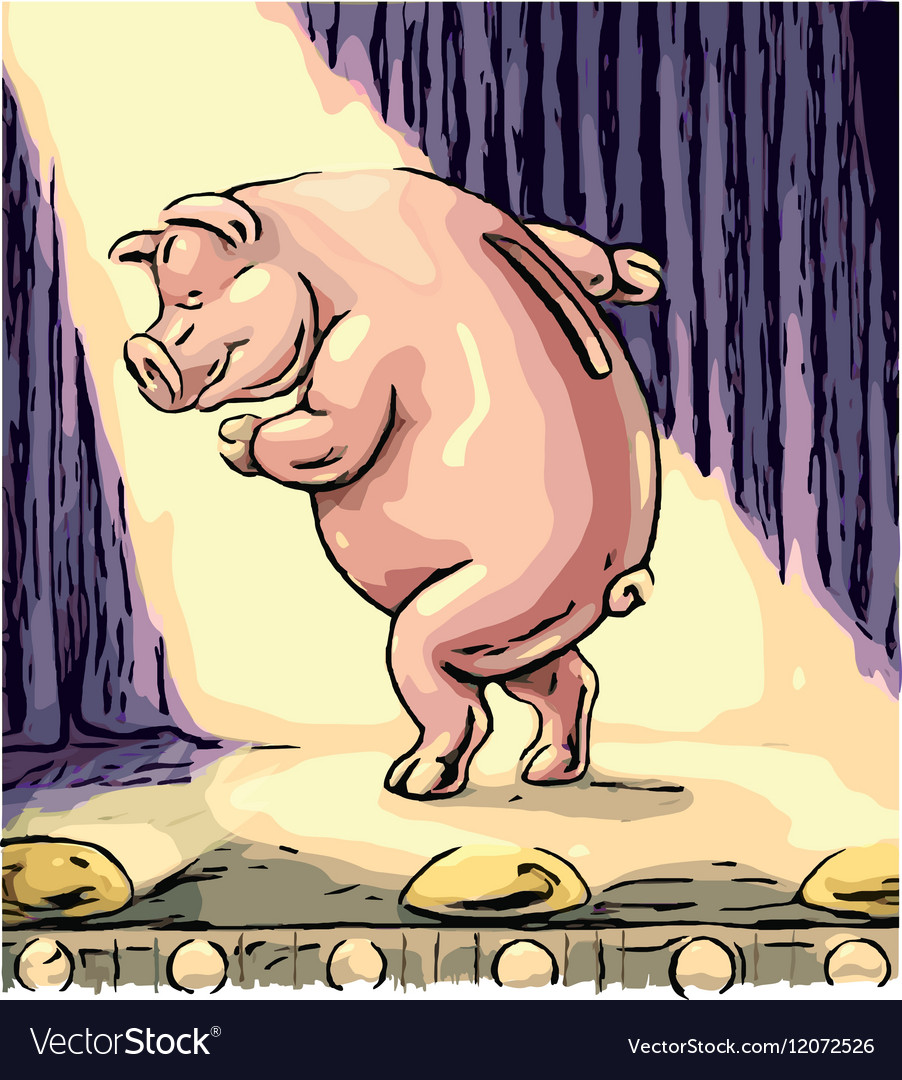 Money Pig preview sm 380x400 vector image
