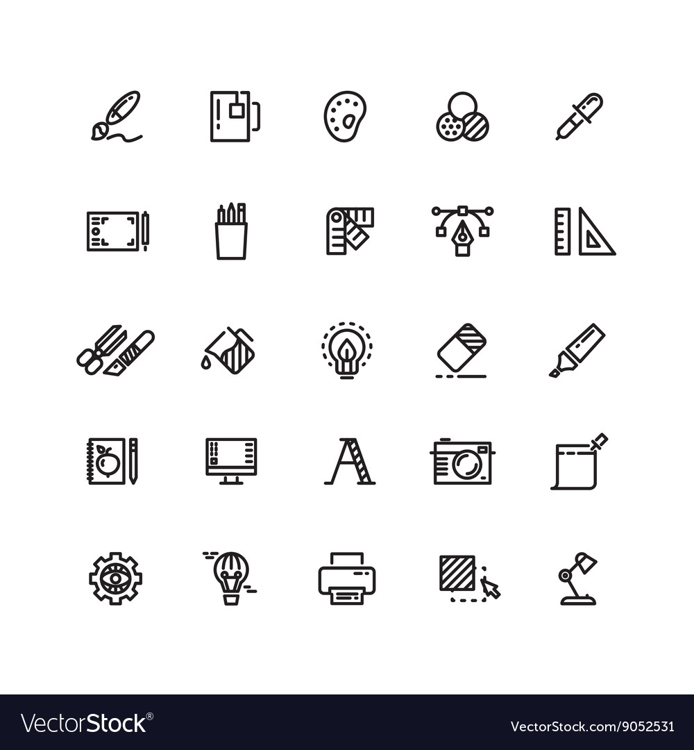 Graphic Design Tools Creative Office Stationery