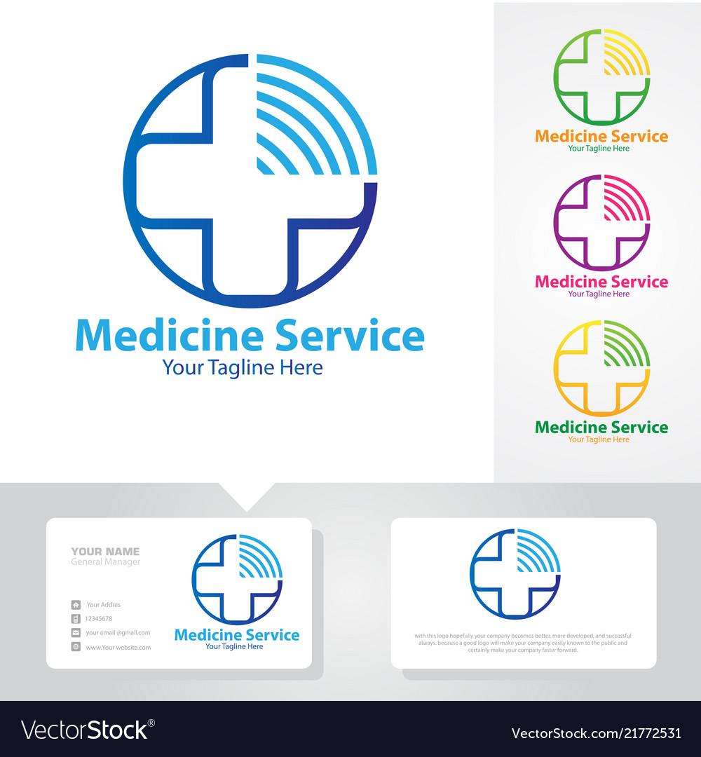 Medicine service logo