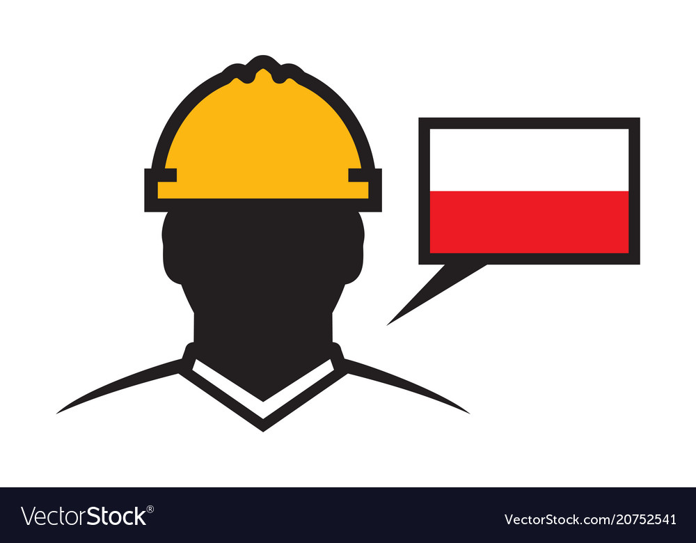 Polish contractor icon