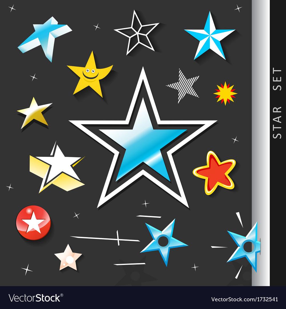 Star symbol set