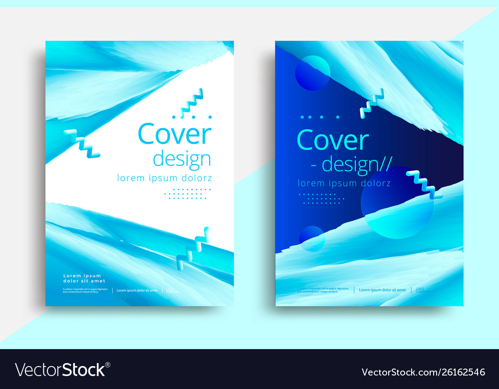 Cover template for business design graphic