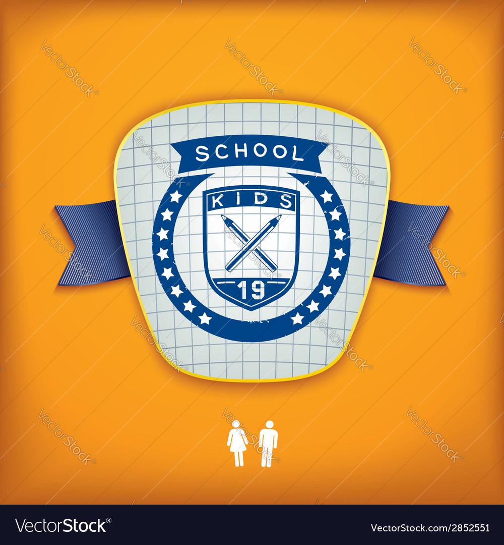 Design school emblem