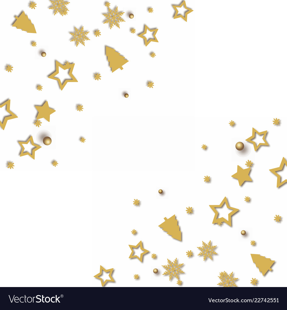 Greeting card with christmas ornaments Royalty Free Vector