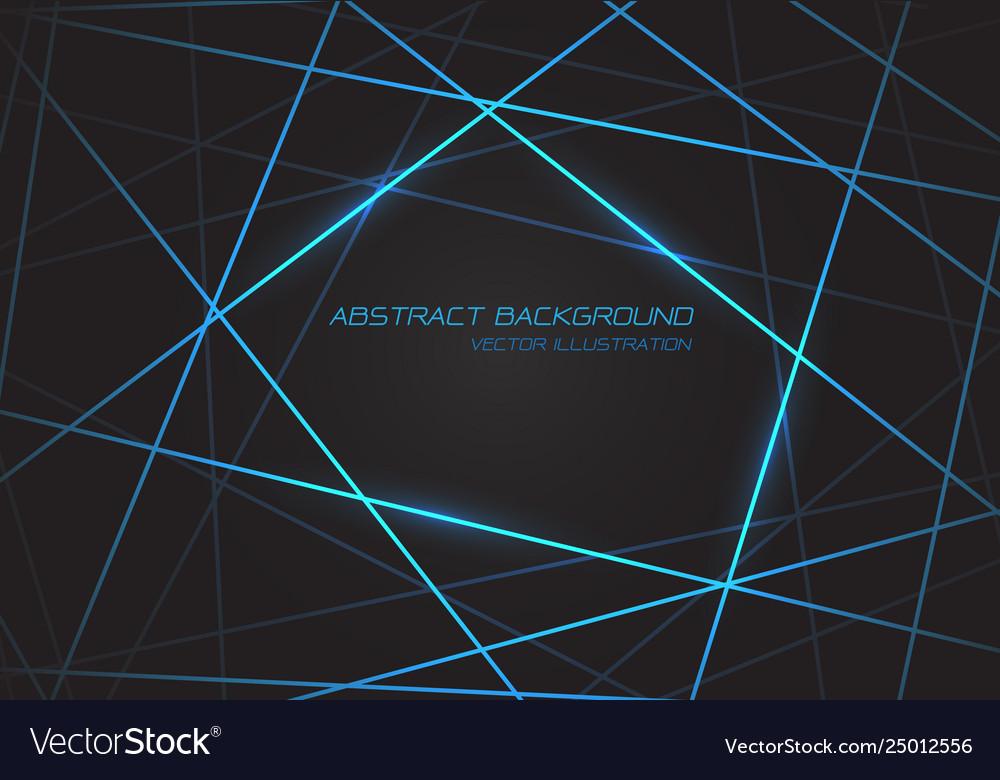 Blue line light laser cross overlap on dark grey