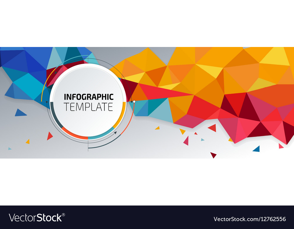 flyer template header design banner royalty free vector