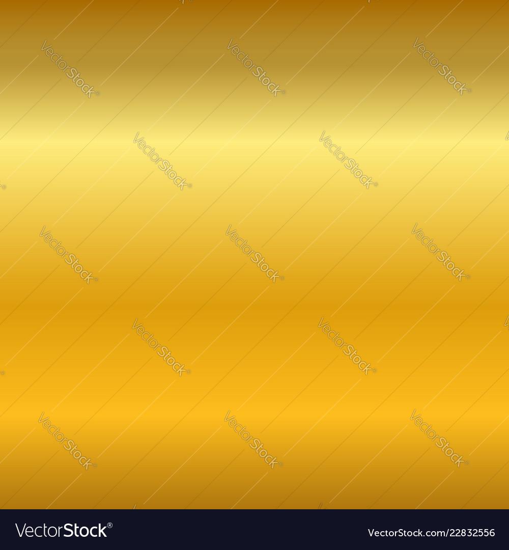 Gold gradient smooth texture empty golden metal