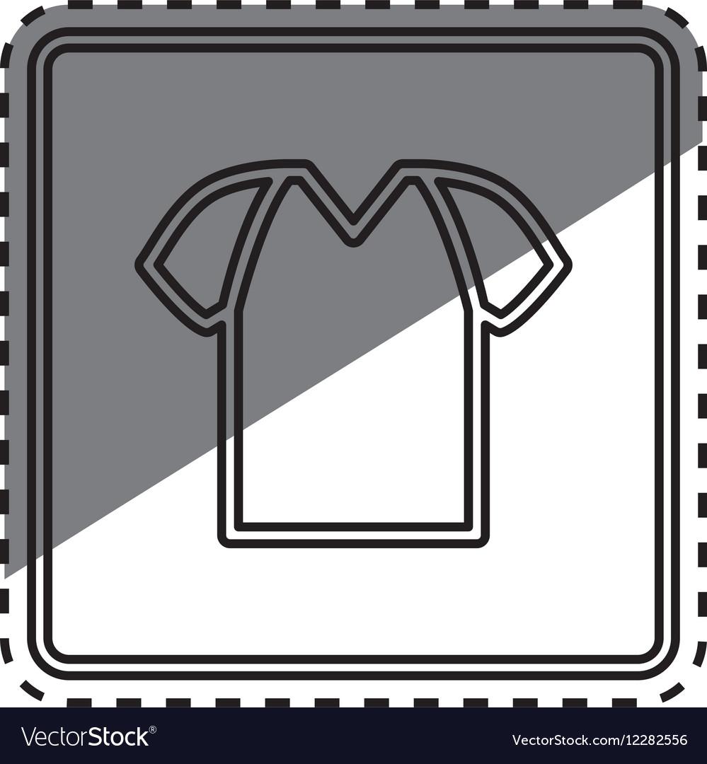 Tshirt basic wear vector image