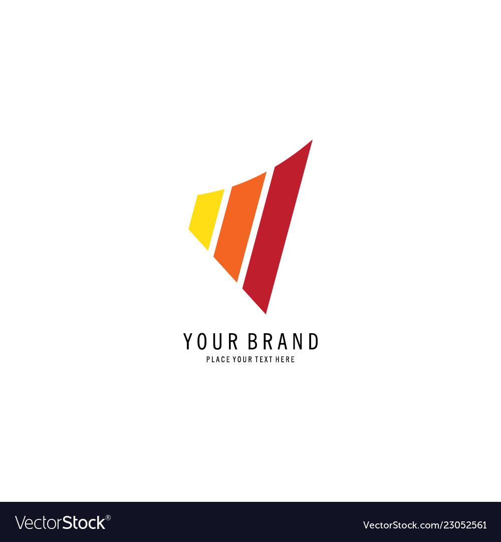 Abstract graphic chart logo