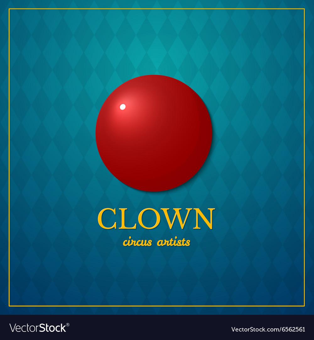 Clown logo circus design