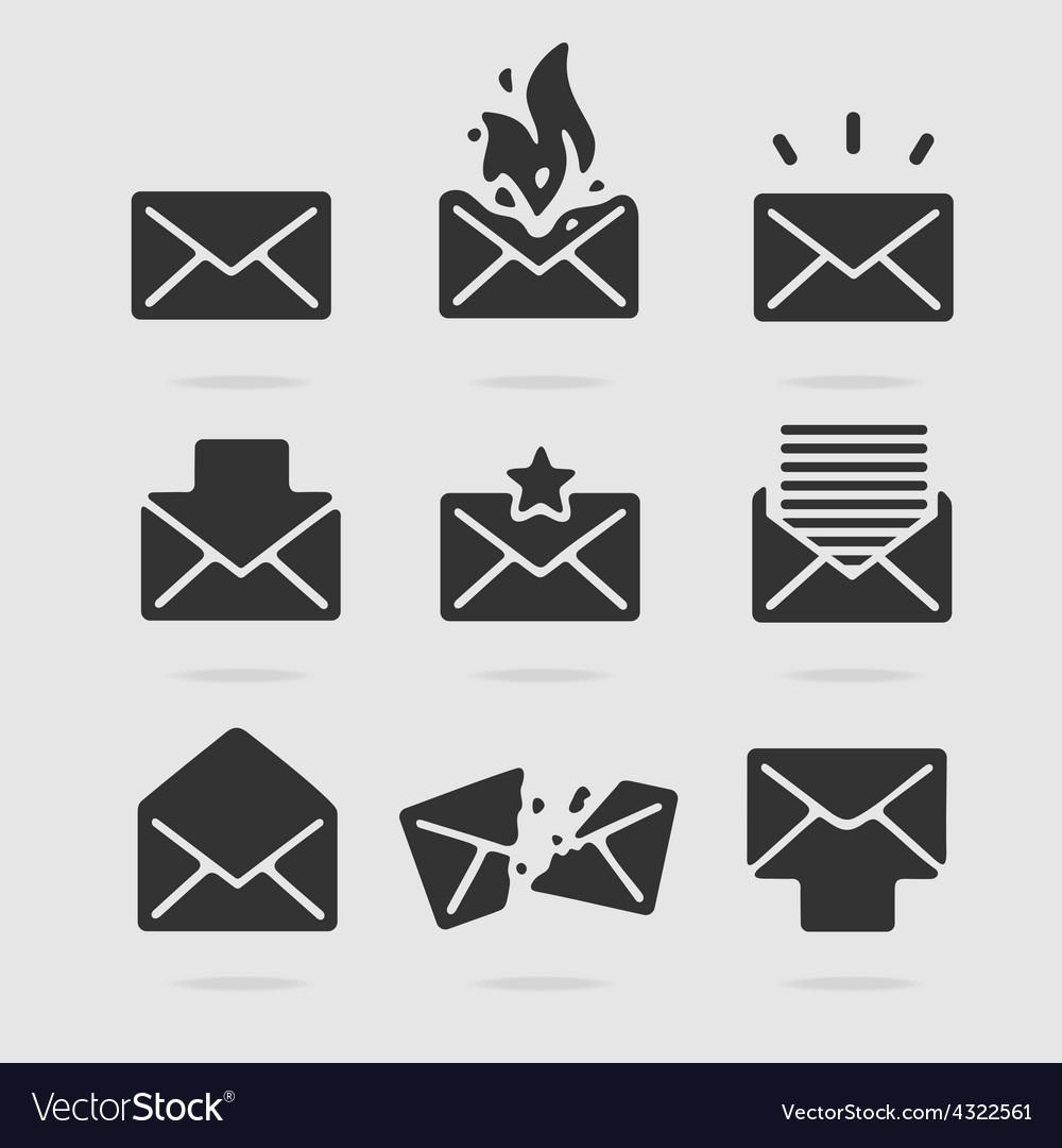 Icon Set Mail