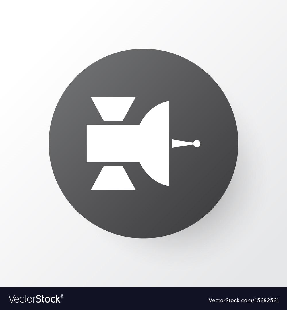 Satellite icon symbol premium quality isolated vector image