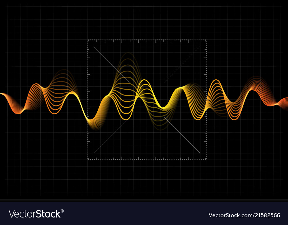Equalizer Abstract Wave Icon