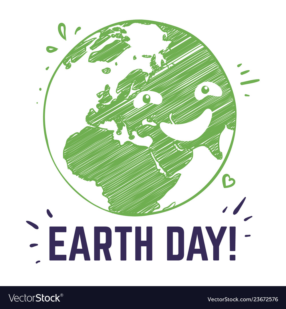 Earth day poster planet environmental world