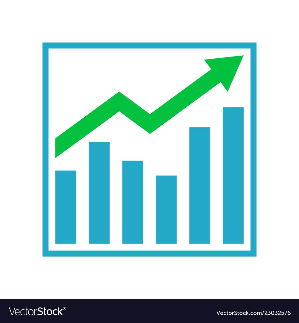 Growth graph business chart bar diagram