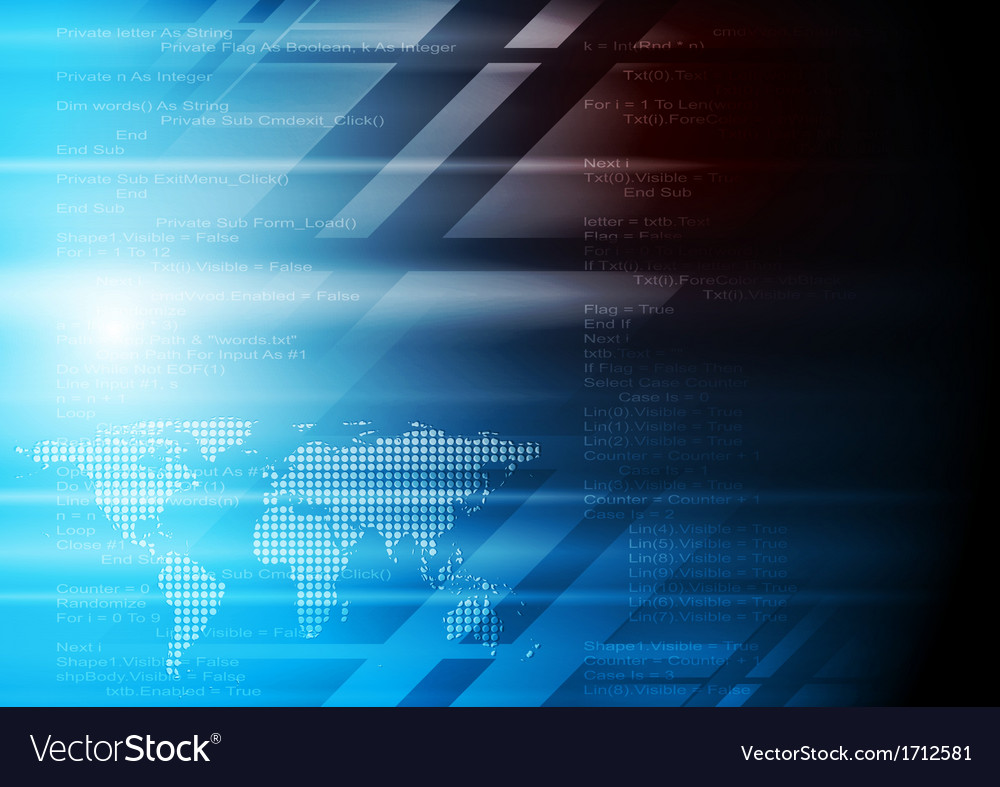 Abstract elegant technology background