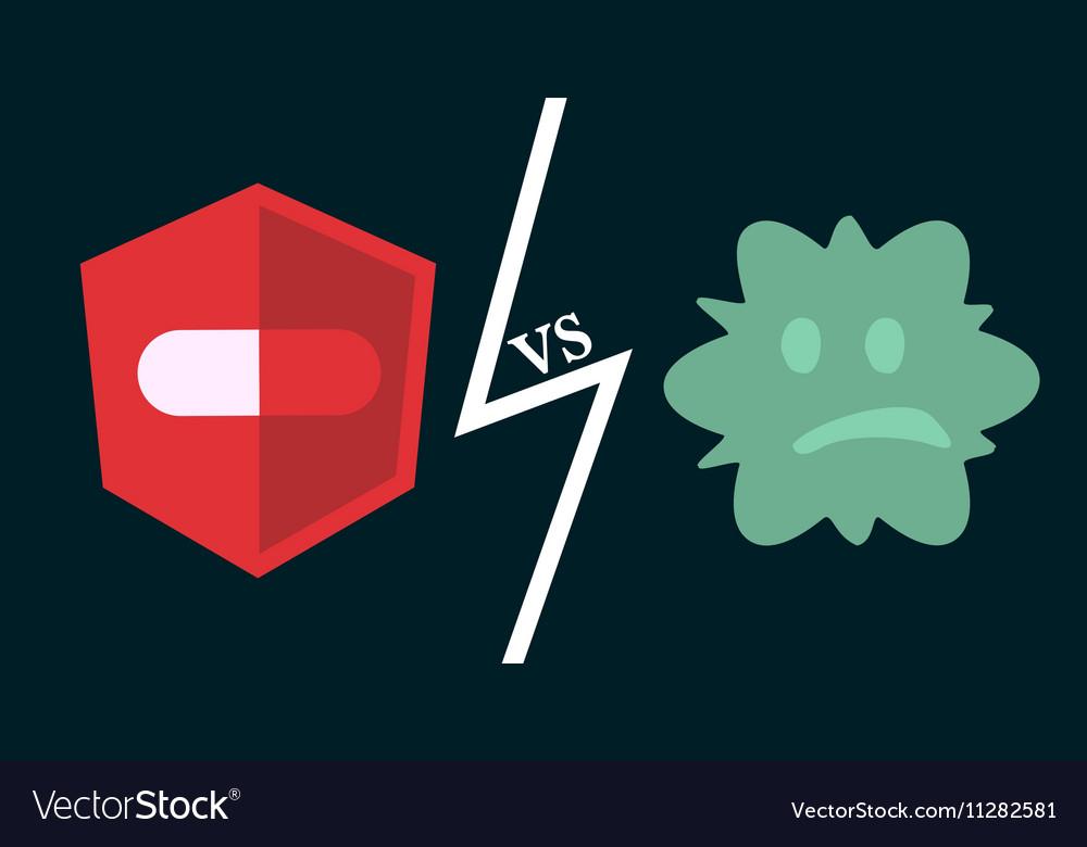 Antibiotics vs bacteria