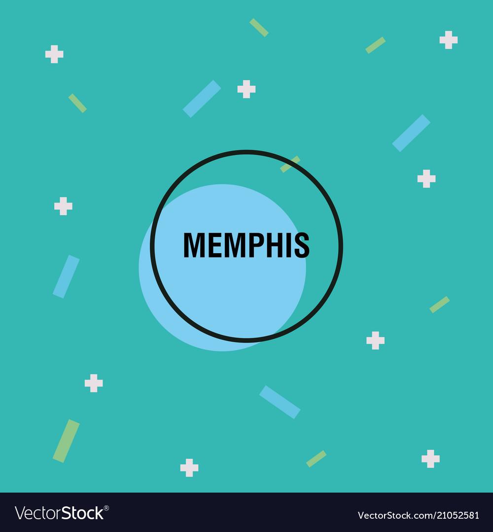 Memphis style design