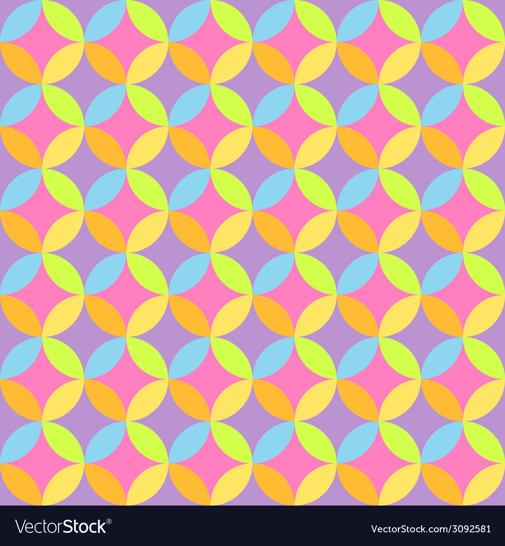 Seamless Abstract Colorful Wallpaper Royalty Free Vector