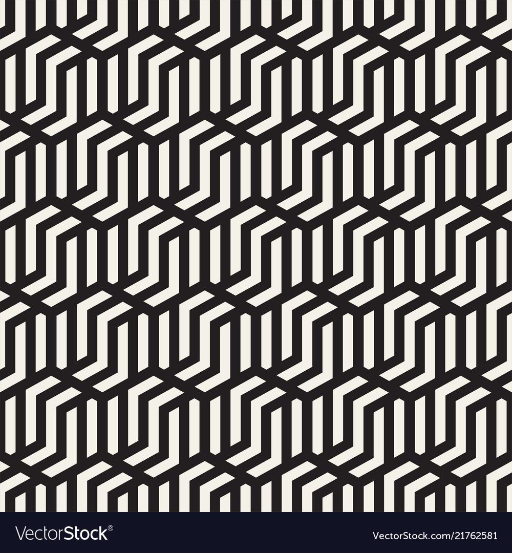 Seamless abstract shapes pattern modern stylish