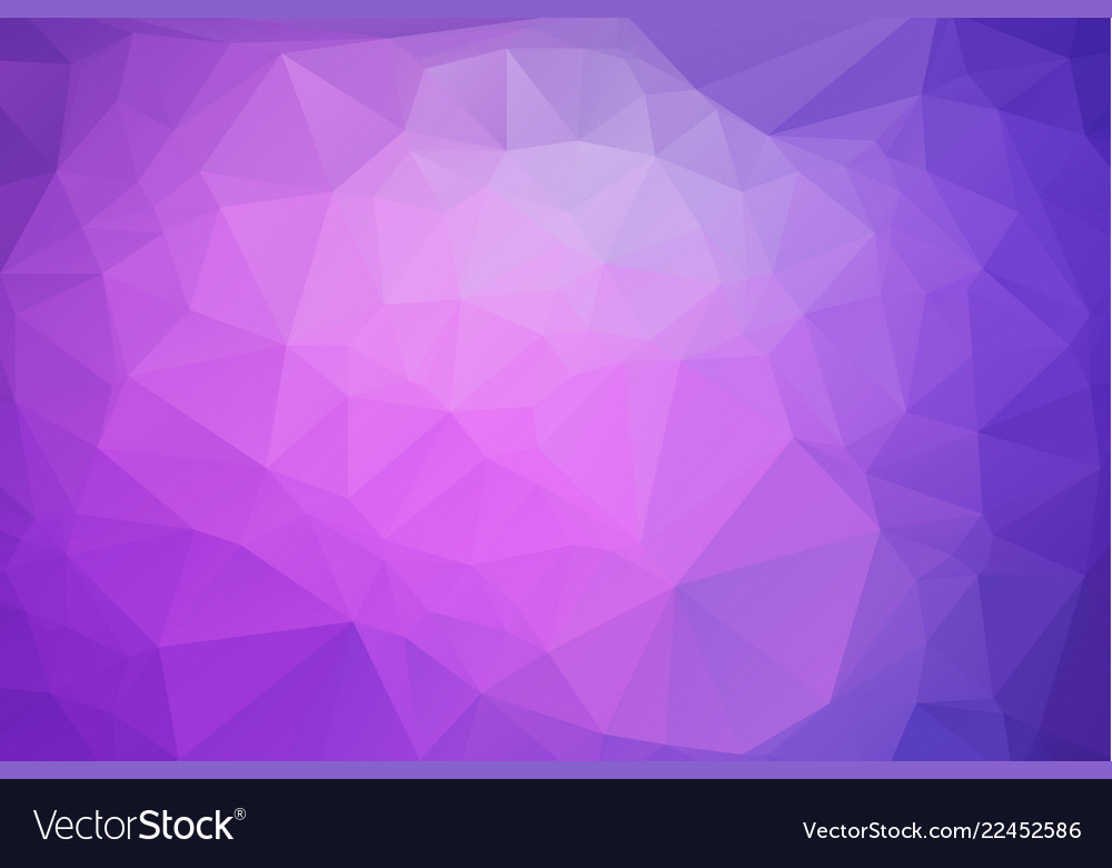 Abstract pink purple polygonal which consist of