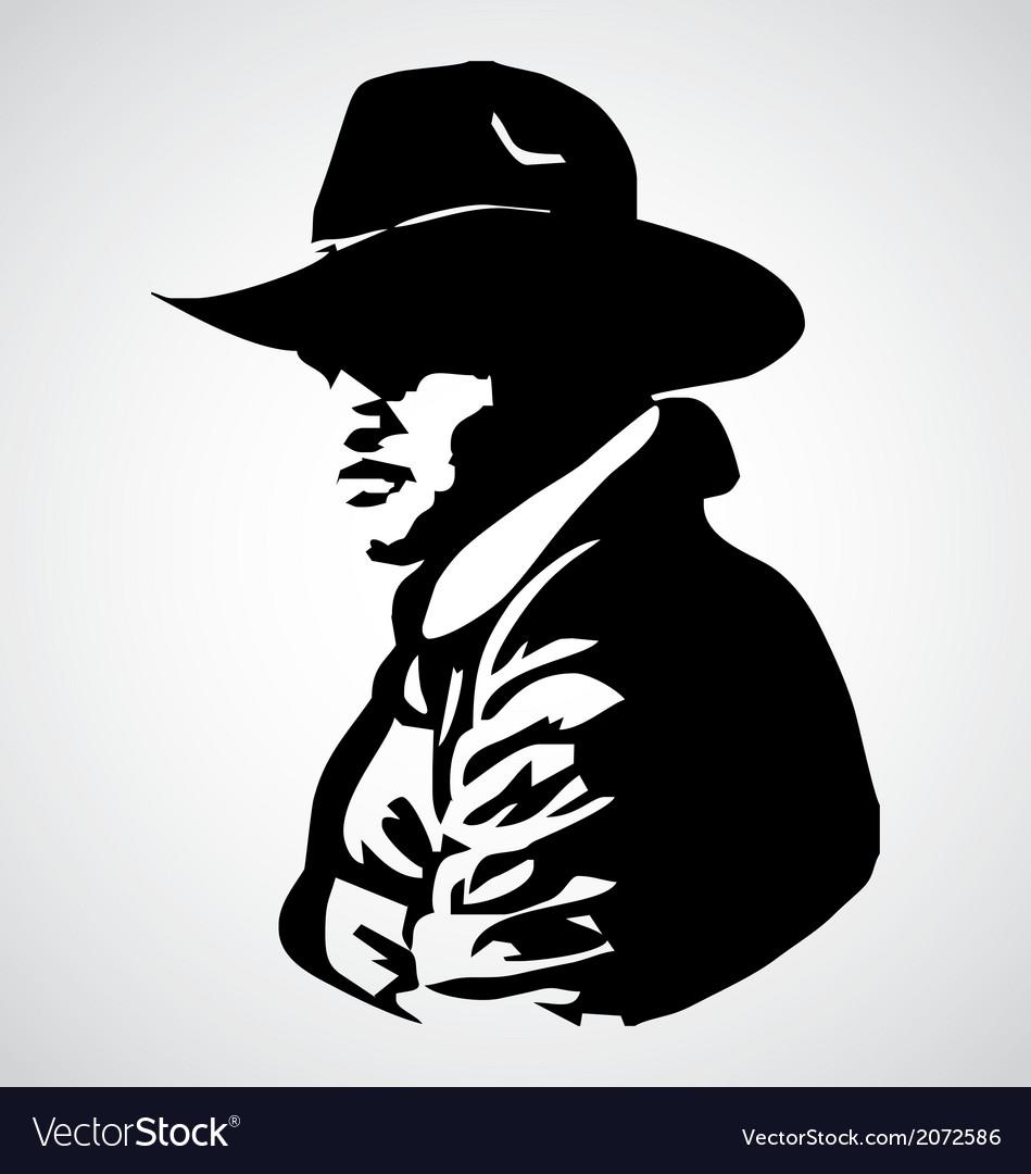 Cowboy Stencil
