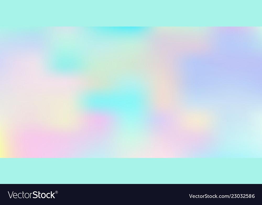 Holographic iridescent background rainbow