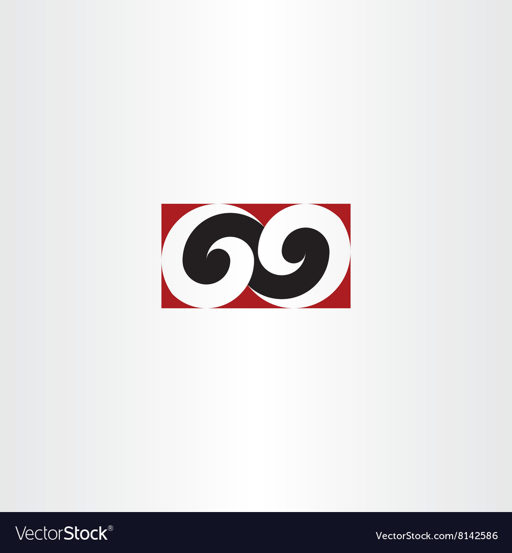 Number sixty nine 69 logo icon element design sign