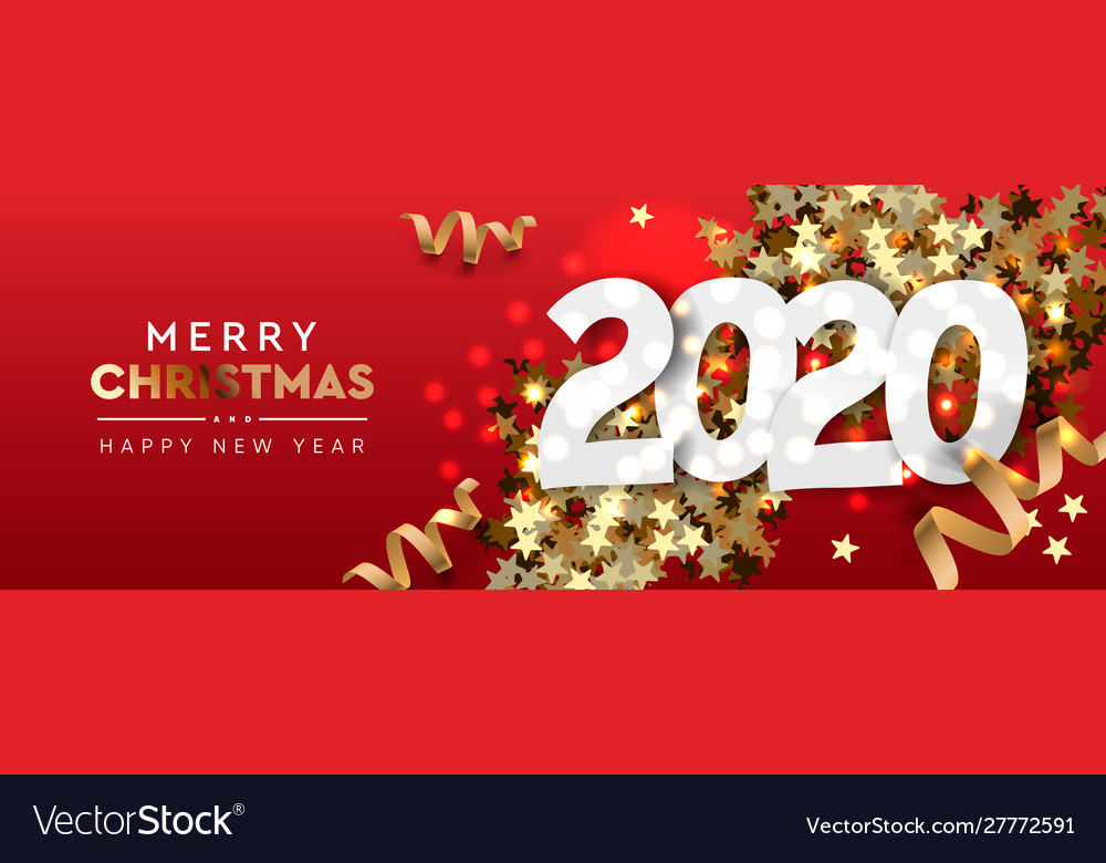 2020 happy new year background merry christmas