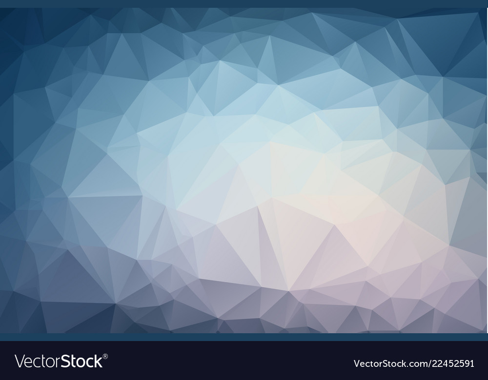 Abstract light blue polygonal which consist of