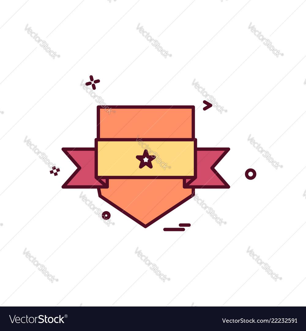 Badge icon design