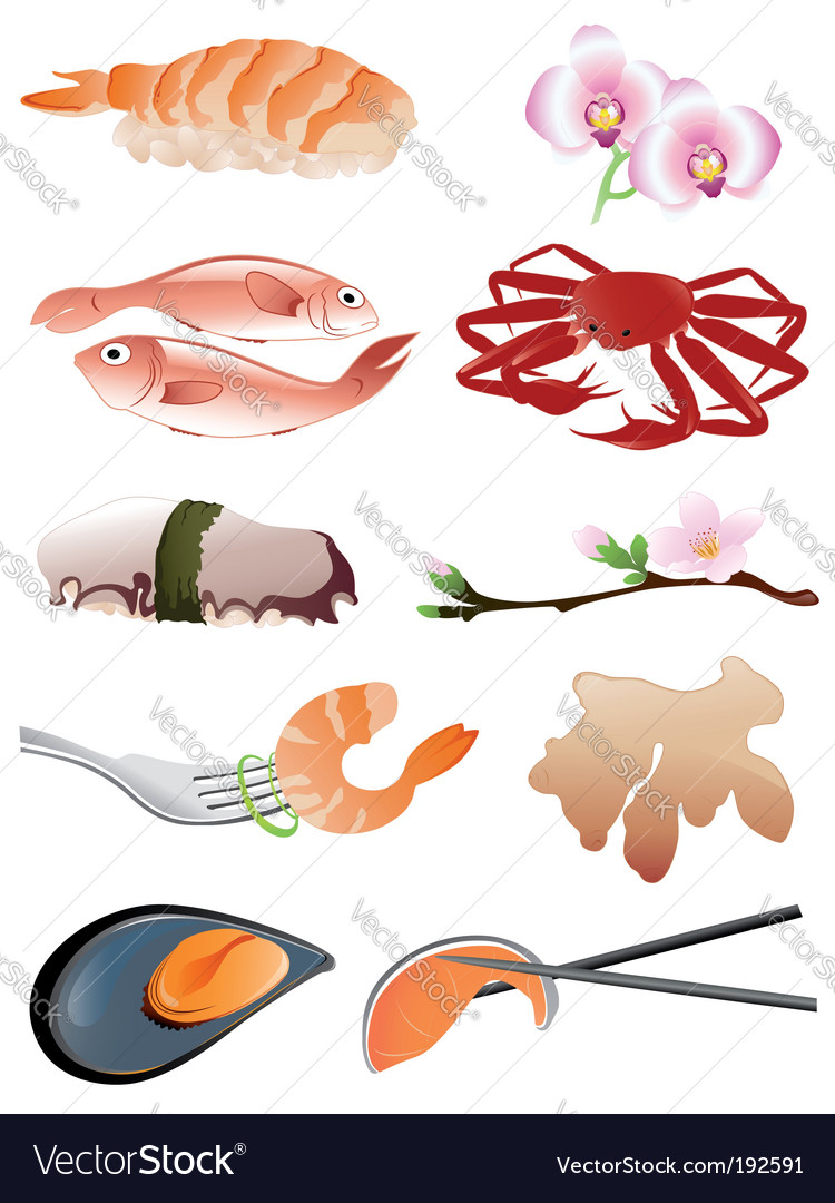 Cartoon Chinese Food Icon Set Royalty Free Cliparts Vectors And Pic #3
