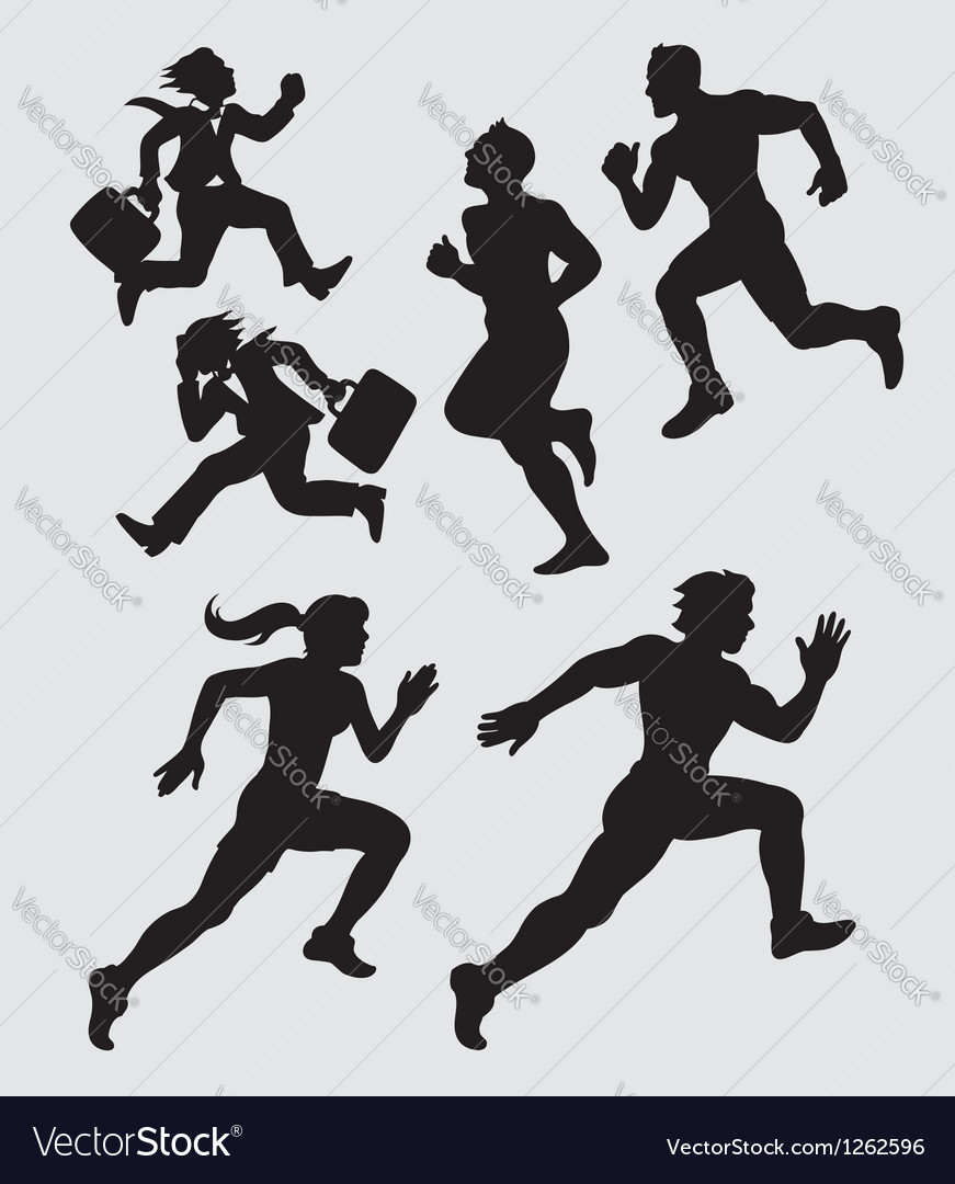 Running Silhouettes 1