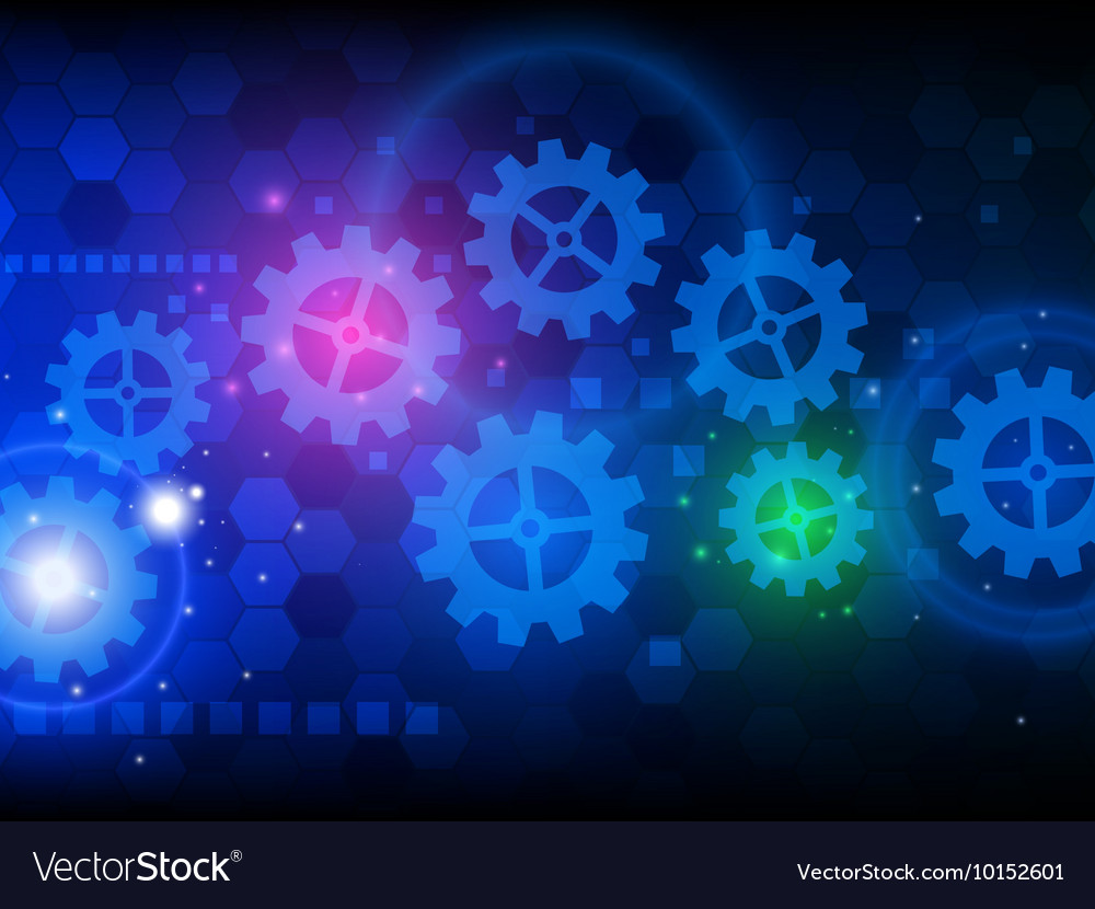 Abstract engineering hi-tech technology background
