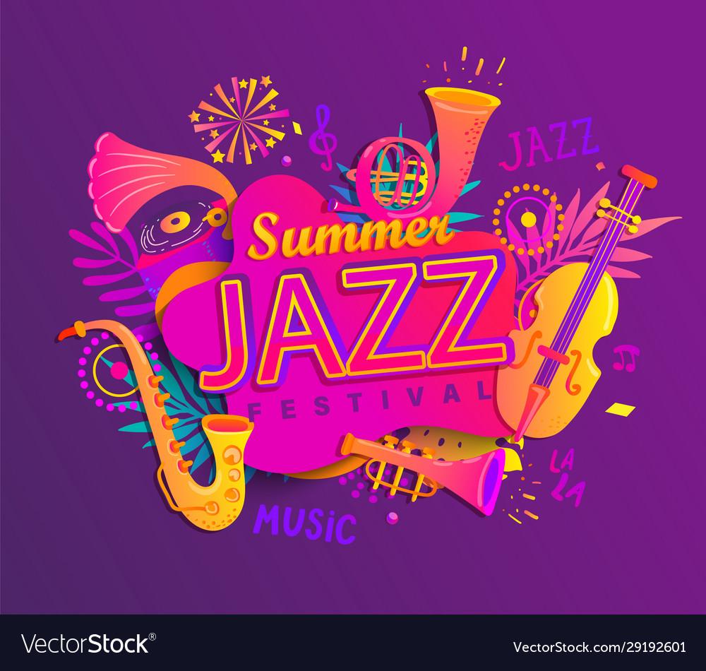 Summer jazz musical festival
