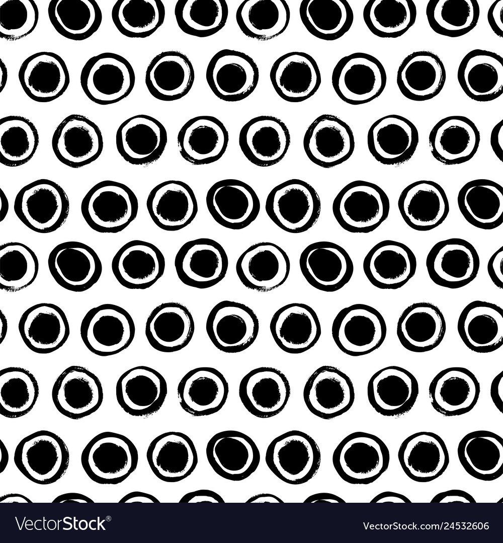 Seamless pattern with circles simple background
